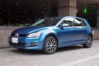 「Volkswagen Car-Net」を搭載した「フォルクスワーゲン・ゴルフ」。