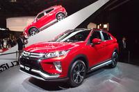 2017年3月に世界初公開された新型SUV「エクリプス クロス」。今後、日本国内でも販売される。