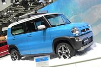 2013年の東京モーターショーに出展された「スズキ・ハスラー」。