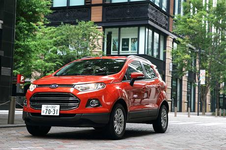 フォードが世界戦略車として展開するコンパクトSUV「エコスポーツ」。ブラジル・フォード主導で開発された...
