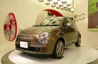 「フィアット500C by Diesel」日本で初披露