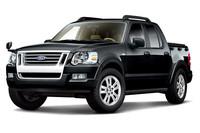 「フォード・エクスプローラースポーツトラック」に安全装備など追加の画像