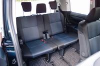 サードシート。3人分の着座スペースが割り当てられる。