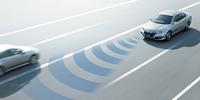 新開発の「CMBS」は車線逸脱による対向車との衝突にも対応。センサーにはミリ波レーダーを用いる。