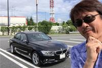 お目当ての「BMW 320d」とともに。