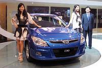 写真は2007年10月、東京モーターショーに登場したときの「i30」。