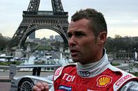 1997年にポルシェでルマンを制したトム・クリステンセン。2000年にアウディで2勝目を手に入れてからは、R8とともに最多勝ドライバー(7勝)への道を進んだ(ただし2003年は同じVWグループのベントレーで優勝)。ディーゼル・マシンR10を駆り、記録更新に挑む。