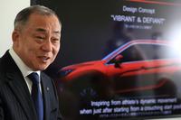 三菱自動車の常務執行役員 デザイン本部長、國本恒博(くにもと つねひろ)氏にお話を伺った。