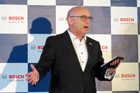 ボッシュ(日本法人)のウド・ヴォルツ代表取締役社長。