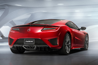 ホンダ、HVとなった新型「NSX」を発表【デトロイトショー2015】の画像