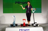 【Movie】歩道もトヨタで!? 移動支援ロボ「ウィングレット」デビューの画像