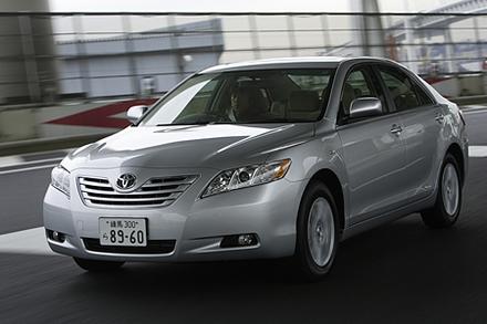 トヨタ・カムリ Gリミテッドエディション(FF/5AT)/Gディグニスエディション(FF/5AT)【試乗速報】