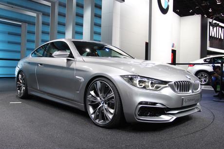2013年1月14日に開幕したデトロイトショー。BMWのスタンドに並んだコンセプトモデルやニューモデルを紹介す...