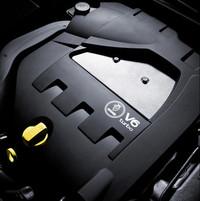 2.8リッターV6ターボエンジン。