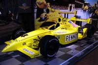 昨年、サム・ホーニッシュJr.がチャンピオンを獲得した「ペンゾイル・パンサー・ダッラーラ」。エンジンはシボレーの3.5リッターV8、1万700回転で650hpを発生する