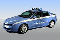 こちらは国家警察仕様。DESIGN GIUGIAROのバッジはそのまま(フィアット提供)