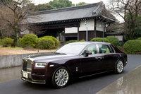 東京国立博物館で日本初公開された、新型「ファントム」。5000万円を優に超す、当代随一の高級車である。