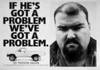 第3回:『トヨタ ハイラックスの海外での広告 その3』の画像