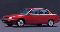 1989年7月にデビューしたアプローズ。スタイリングは地味ながらスッキリとまとめられていた。写真は当初の最高級グレードだった「16Ri」で、4輪ディスクブレーキ、パワーステアリング、チルトステアリング、パワーウィンドー、電磁ドアロックなどを装備して、価格は5MTが131.5万円、4ATが139.5万円だった。