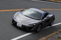 足のいいスポーツカー、マクラーレン。「650S」など、ほかのラインナップとは異なる「570S」の特性を探る。(photo:北畠主税)