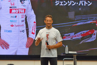 SUPER GT第6戦・鈴鹿1000kmにスポット参戦するジェンソン・バトン選手。