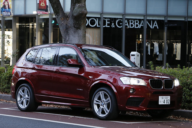 BMW X3 xDrive20dブルーパフォーマンス(4WD/8AT)【短評】