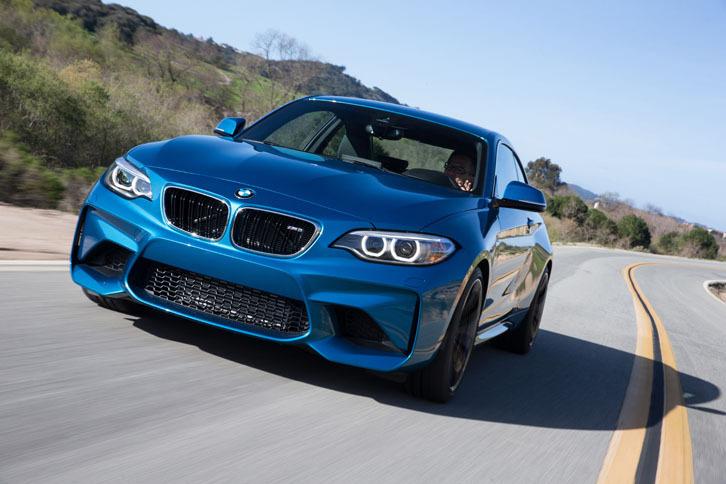 BMW M2クーペ(FR/6MT)/M2クーペ(FR/7AT)【海外試乗記】