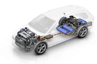 VWゴルフベースの燃料電池車が登場【LAショー2014】の画像