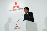 燃費不正問題にともなう社内改革について、三菱の益子CEOは「調査は6~7号目まで来ている。もう少しで全体像が見えてくる」と述べた。
