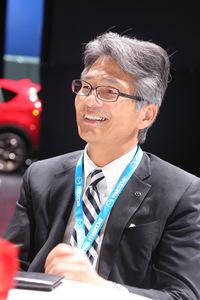 「NC」こと3代目の「ロードスター」から開発に携わってきた山本氏。市販車だけでなく、ルマンカーのエンジン開発にも関わった人物である。