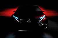 ジュネーブショーに出品予定の三菱のコンセプトカー。