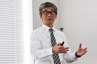 ジョンソンコントロールズ・オートモーティブジャパンの内田博之社長。