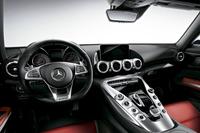 「メルセデスAMG GT S」のインテリア。