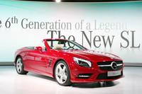 6代目「メルセデスSLクラス」が世界初公開【デトロイトショー2012】