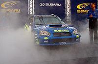 スバル、WRC年間タイトルへ向け支援体制を強化の画像