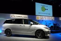 トヨタ、エスティマHVの新プロジェクトを発表の画像