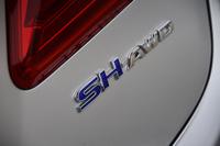 北米仕様の「アキュラRLX」にはガソリン車の設定もあるが、日本仕様の「レジェンド」はハイブリッド車のみとなる。