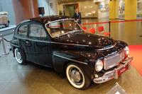 トヨタ博物館に寄贈された「ボルボPV544」。