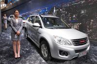 長城の小型SUV「哈弗H6」は、2013年の中国ブランド車販売ランキングでトップに立った。