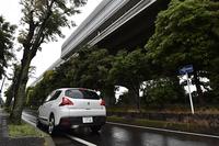 かつて測位テストを行った新湘南バイパスの高架下の道路を通り、いきなり測位テストを実施してみたがまったくズレることなく完璧に走りきった。