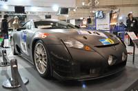 2008年、ドイツのニュルブルクリンク24時間耐久レースに参戦した「LF-A」。