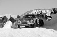 1973年のモンテカルロラリーの様子。この年はRRのスポーツカー「A110」を投入したアルピーヌ・ルノーが世界ラリー選手権初のマニュファクチャラーズタイトルを獲得した。
