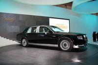 第45回東京モーターショーで初披露された3代目「トヨタ・センチュリー」。