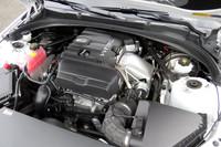 「ATSセダン」の2リッター直噴ターボエンジンは、最高出力276ps、最大トルク40.8kgmを発生。例え話ではなくて、本当に「(Dセグメントの2リッター)クラスで一番の力持ち」なのである。