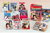 『CG』に加え、『月刊平凡』(1972年7月号)、『POPEYE』(1976年創刊号)、『少年画報』(1965年1月号)、『花とゆめ』(1985年9月5日号)、『Olive』(1985年1/3・18号)、『ARENA37℃』(1983年5月号)、『4年の学習』(1977年12月号)、『鉄道ファン』(1984年4月号)と、まさに懐かしの雑誌がラインナップされる。付録のポスターや小冊子も美しく蘇っており、その精細さは一見の価値あり。