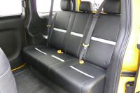 「日産NV200 ニューヨーク市タクシー」の車内。