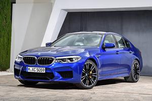 BMW、6代目となる新型「M5」の受注を開始