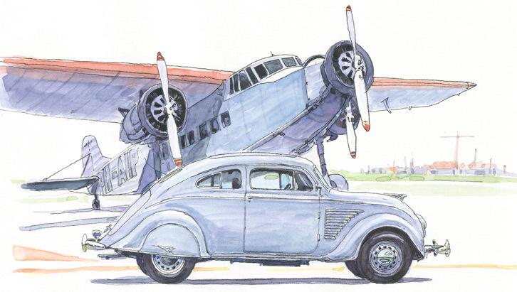 第16回:デソート・エアフロー――空気を形に<1934年>航空機に学んだ未来志向のフォルム