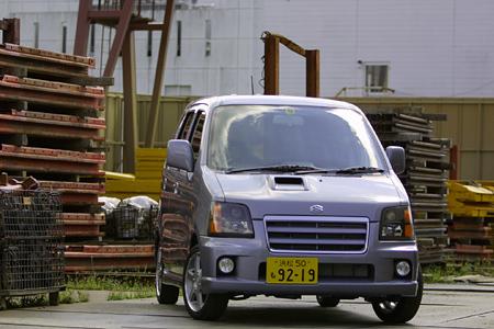 スズキ・ワゴンR RR-SWT(4AT)【試乗記】