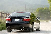 """レクサスLS600hL""""後席セパレートシートpackage""""(4WD/CVT)【ブリーフテスト】"""